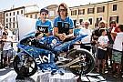 Un'opera d'arte sulle carene dello Sky Racing Team VR46 a Misano