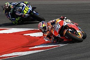 MotoGP Rennbericht MotoGP in Misano: Dani Pedrosa besiegt Valentino Rossi