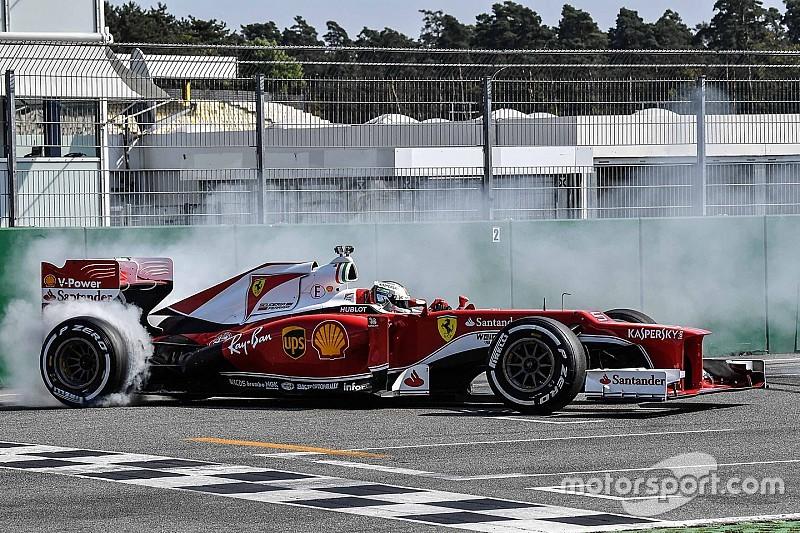 Феттель завітав на «Гоночні дні» Ferrari в Хоккенхаймі