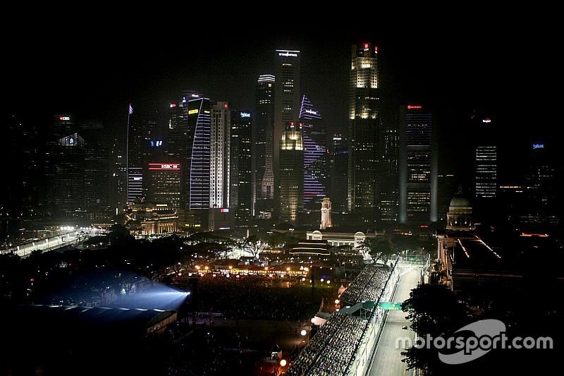 GP di Singapore: è la pista dove si recupera più energia in frenata