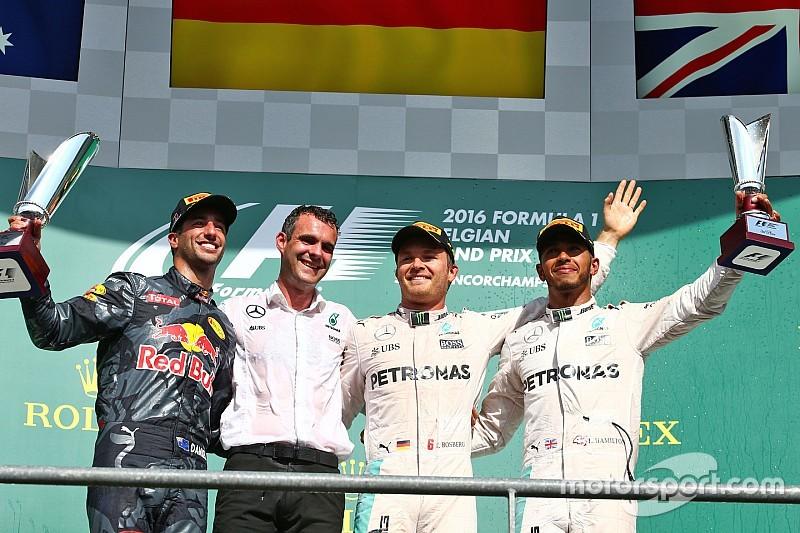 GP Belgia: Rosberg dominasi balapan penuh aksi di Spa