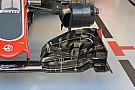 Técnica: alerón delantero del Haas VF-16 en Singapur