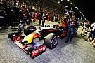 Verstappen reveló la causa de su mala salida