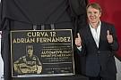 GP-circuit Mexico vernoemt bocht naar Adrian Fernandez