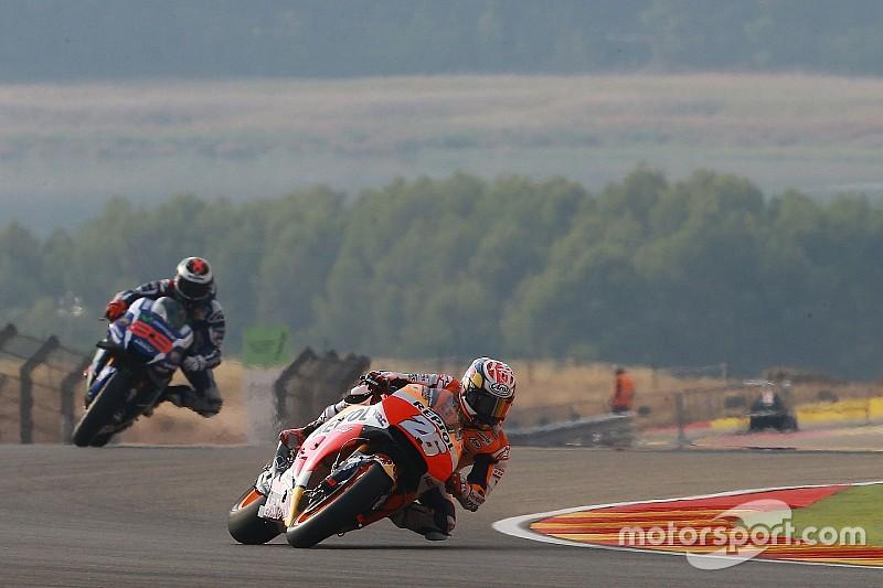 MotoGP in Aragon: Honda dominiert 2. Training, 4 Fahrer stürzen