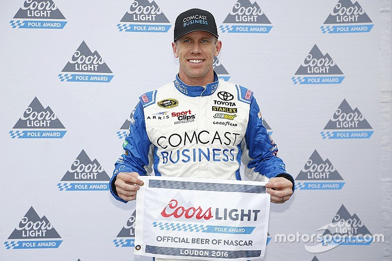 Carl Edwards centra la pole al New Hampshire Motor Speedway
