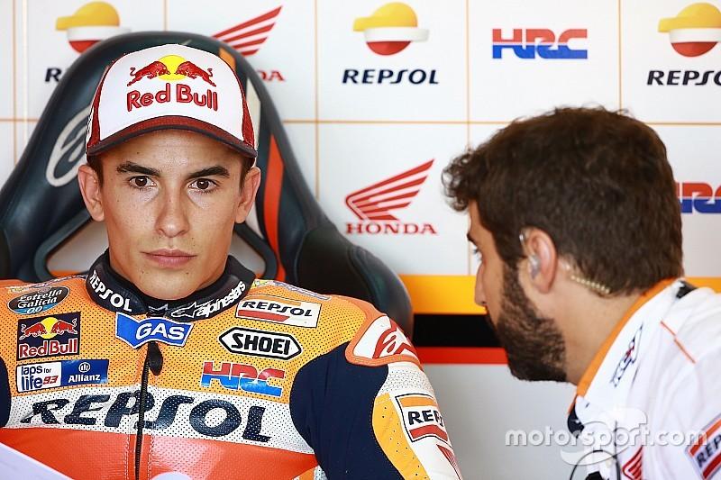 Aleix Espargaro niet te spreken over crash Marquez op Aragon