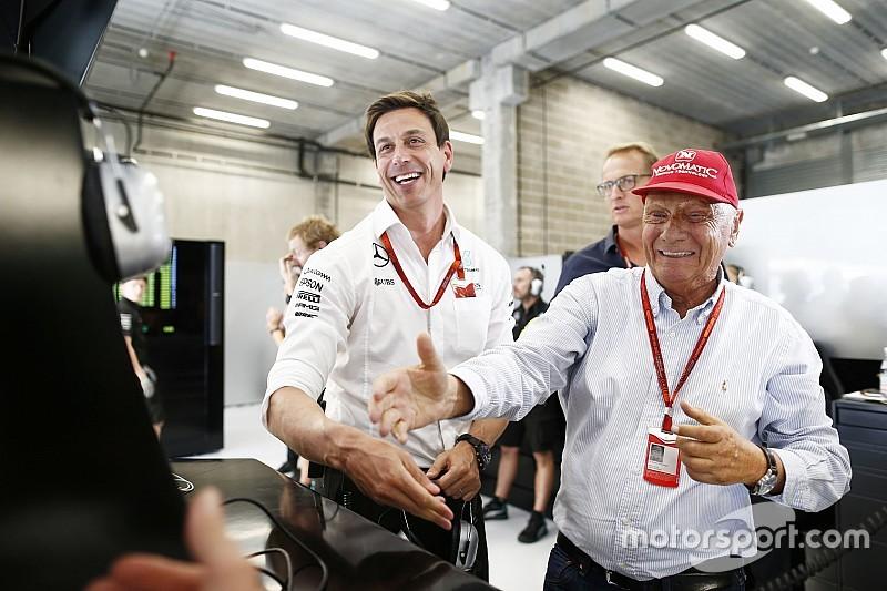 """Laudaa Hamilton: """"No hacemos nada contra él"""""""
