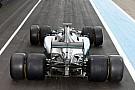 A Mercedes egy egészen elképesztően látványos képet közölt a Pirelli F1-es tesztjéről