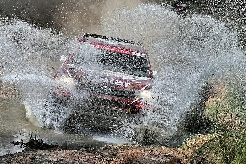 Al-Attiyah se pone al frente en Marruecos, Sainz en tercero