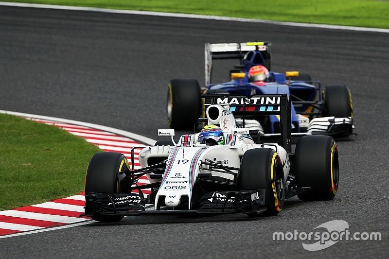 مشكلة في الشاشة تسبّبت في حصول ماسا على أوّل توبيخٍ في مسيرته في الفورمولا واحد