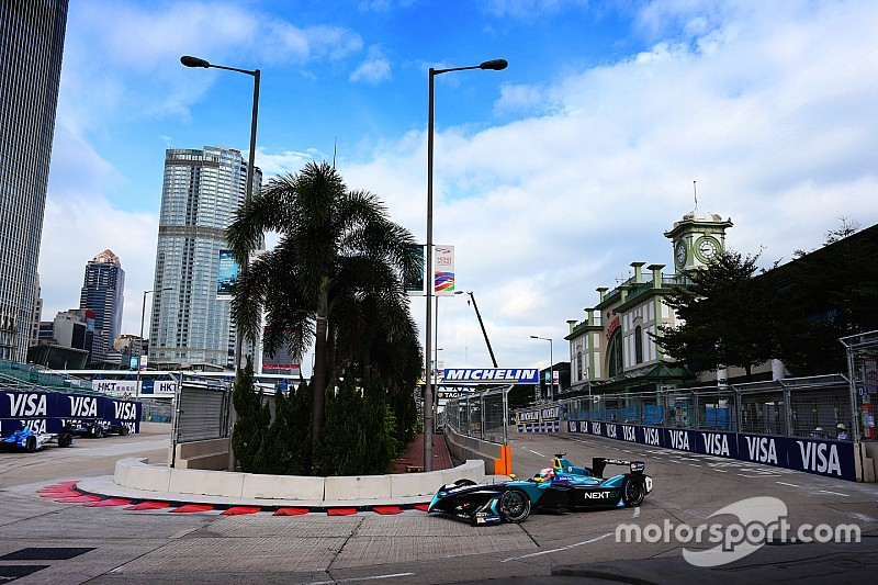 Nelson Piquet Jr. logró la pole en Hong Kong