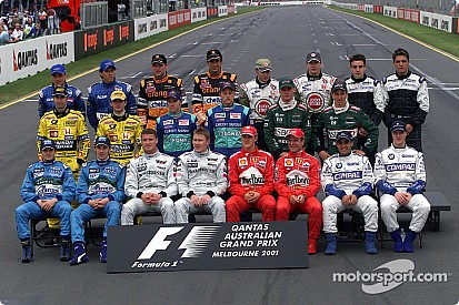 Fotostrecke: Formel-1-Familienfotos gestern und heute