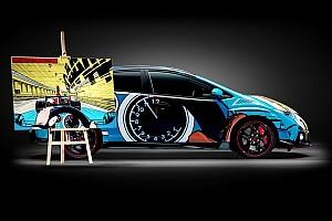 TCR Benelux Nieuws Tom Coronel met Vaillant Art Car in TCR Benelux op TT-circuit Assen