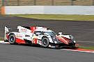 Toyota toma impulso en la tercera práctica en Fuji