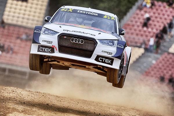 World Rallycross Almanya WRX: İlk günü lider bitiren Ekstrom, şampiyonluğa bir adım daha yakın