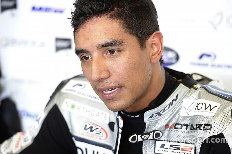 Yonny Hernández correrá el próximo año en Moto2 con el AGR