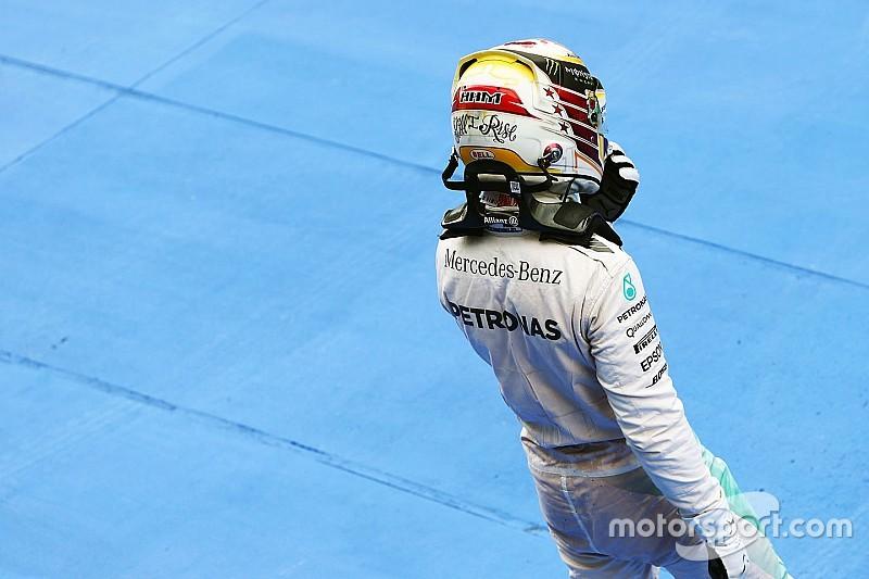 """Si Hamilton pierde el título lo aceptará """"como un hombre"""""""
