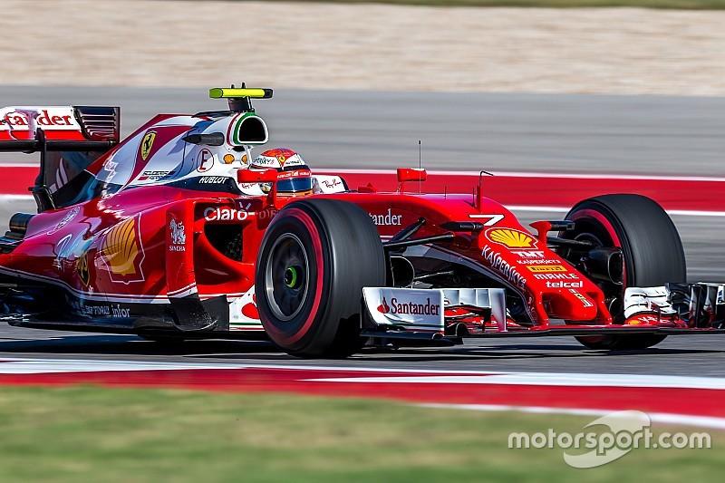 Un Räikkönen fataliste devance Vettel à Austin