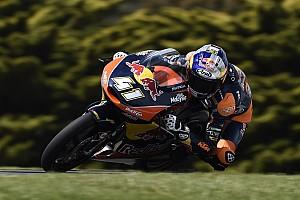 Moto3 Gara Sesto centro di Brad Binder nella gara ad eliminazione di Phillip Island