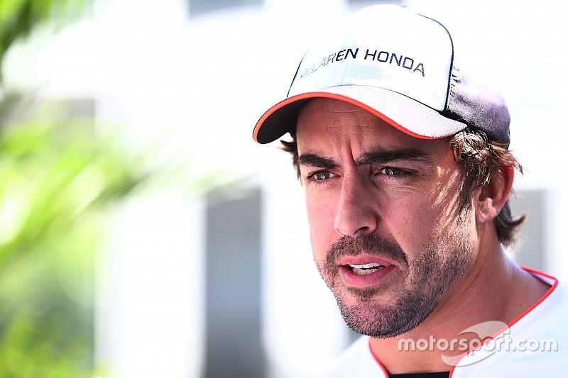 """Alonso: """"Ojalá estemos cerca del podio en México"""""""