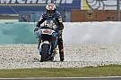 Miller lidera una sesión marcada por el agua y la ausencia de Márquez
