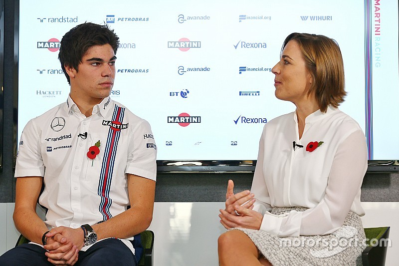 "Claire Williams: ""Stroll is een capabele en extreem intelligente rijder"""