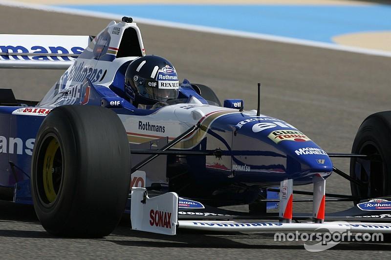 Видео: Чандок за рулем чемпионского Williams Хилла