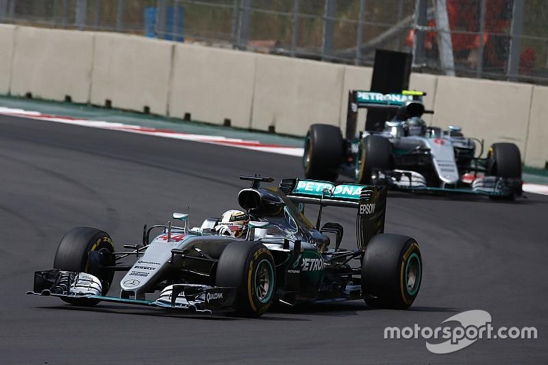 """La victoria de Hamilton se debió a """"circunstancias únicas"""", dice Rosberg"""