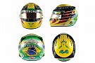 Hamilton homenajea a Senna en su casco para el GP de Brasil