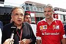 Marchionne niet bereid om meer geld in Formule 1-team te pompen