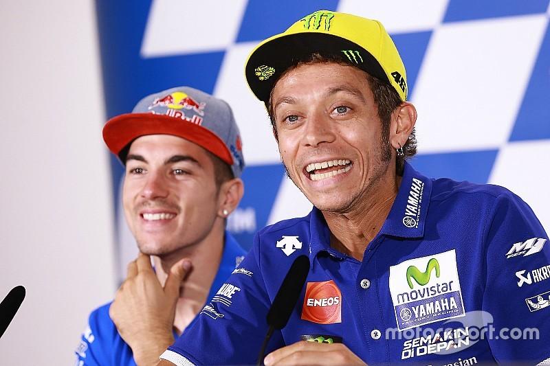 Valentino Rossi: Vinales auf gleichem Level wie Lorenzo
