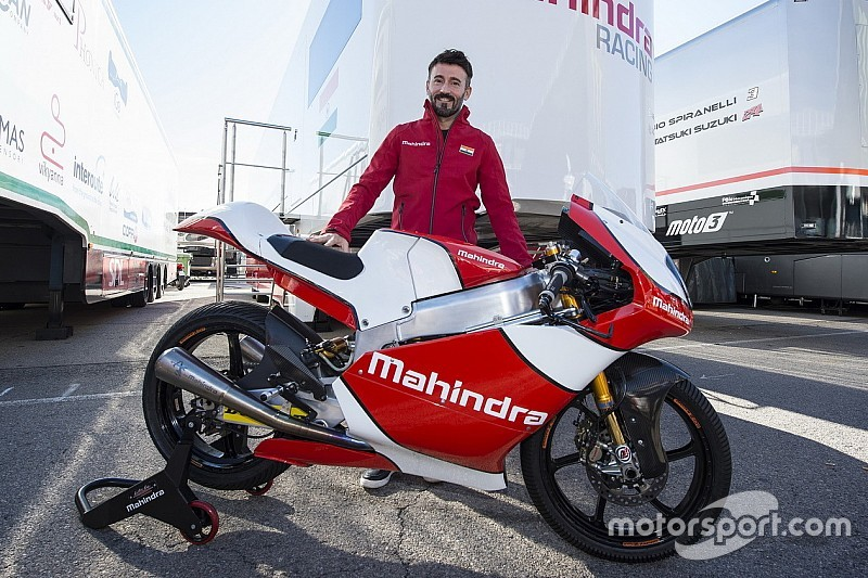 Max Biaggi s'associe à Mahindra et devient team manager