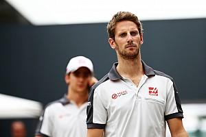 Formule 1 Réactions Accidenté avant la course, Grosjean est passé