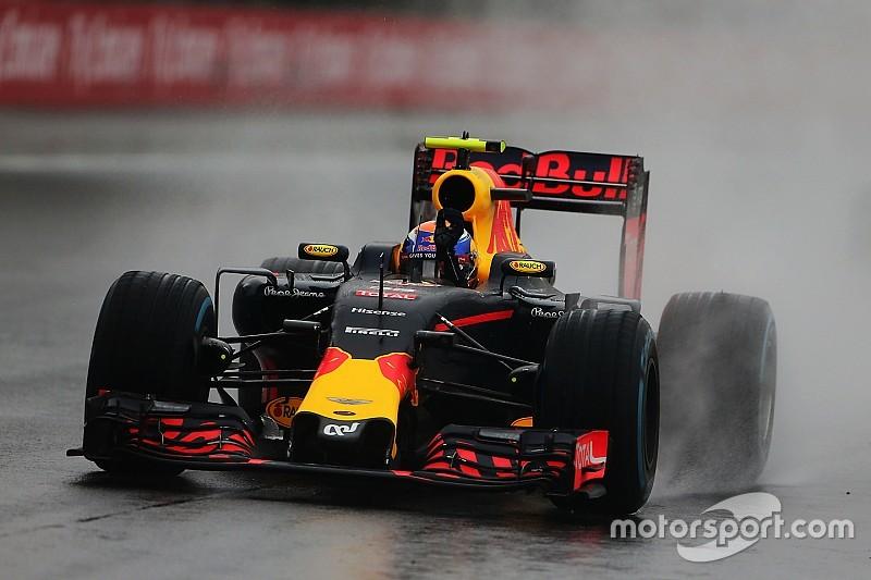 """Teammanager Red Bull: """"Een van de meest indrukwekkende prestaties in de regen ooit"""""""