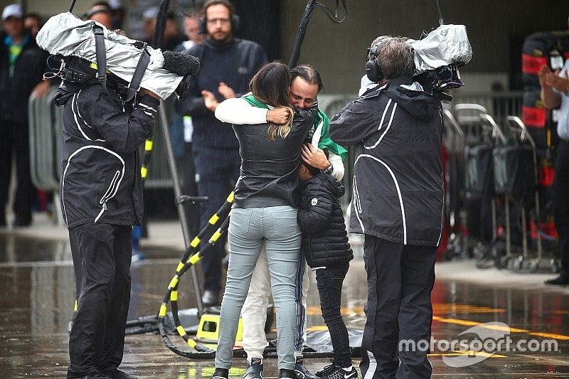 Rosberg le dedica un emotivo mensaje a Felipe Massa