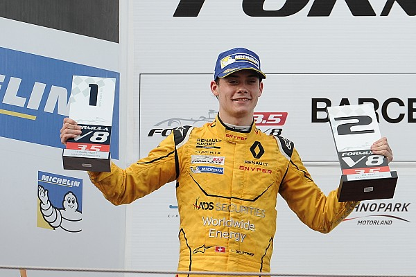 Louis Deletraz hará su debut en la GP2 en Abu Dhabi con Carlin