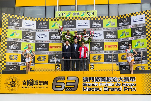 GT Reporte de la carrera GT World Cup Macao: Vanthoor gana una controvertida carrera clasificatoria