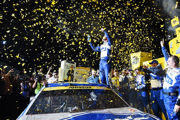 NASCAR Cup Jimmie Johnson entre dans l'Histoire