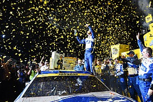 NASCAR Cup Actualités Jimmie Johnson entre dans l'Histoire