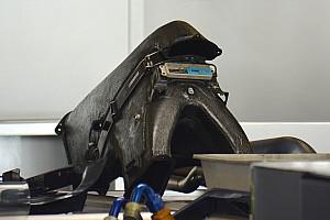 Técnica: Entrada del aire de la admisión del Toro Rosso en Abu Dhabi