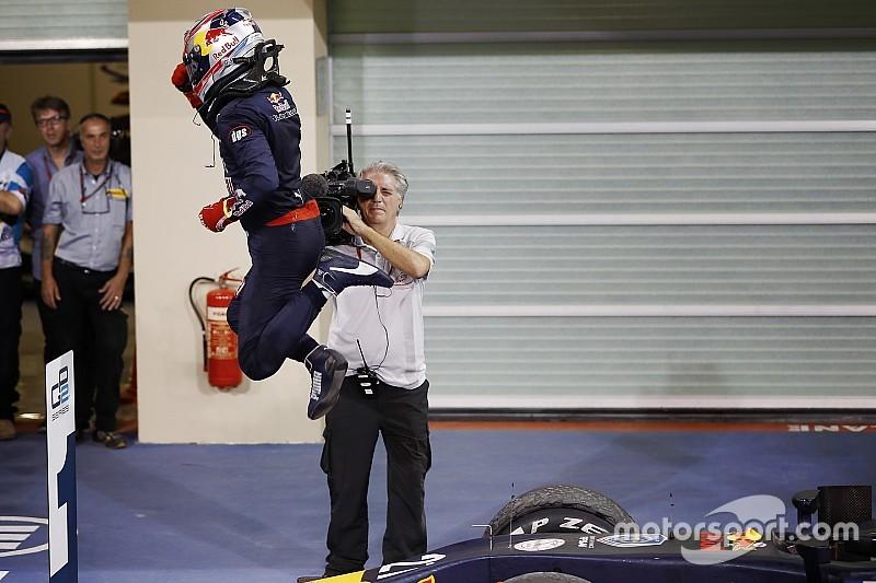 Линн выиграл финальную гонку сезона, Гасли стал чемпионом GP2