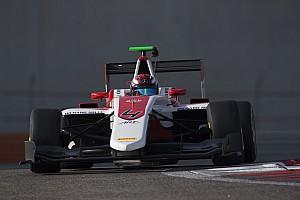 GP3 Testverslag Russell domineert laatste dag van GP3-test Abu Dhabi