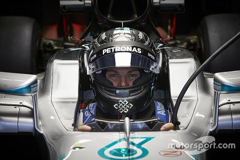 """Letzte F1-Fahrt in Sindelfingen: """"Ein schöner Abschluss"""" für Nico Rosberg"""