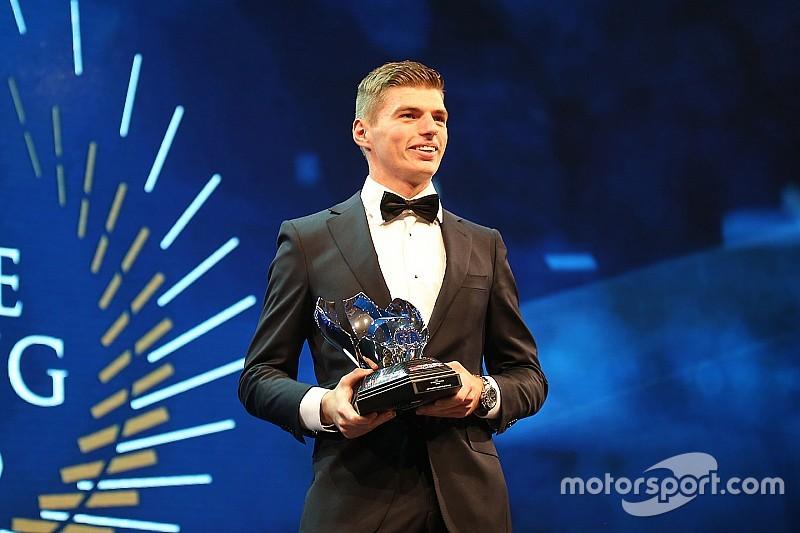 Verstappen recebe dois prêmios da FIA em noite de gala