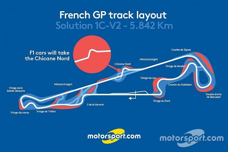 Traçado para GP da França é apresentado