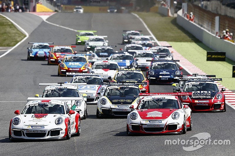 Team Bleekemolen in 2017 in Porsche Carrera en Supercup
