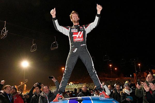 Grosjean vince al Trofeo Andros, Panis e Tambay si scazzottano