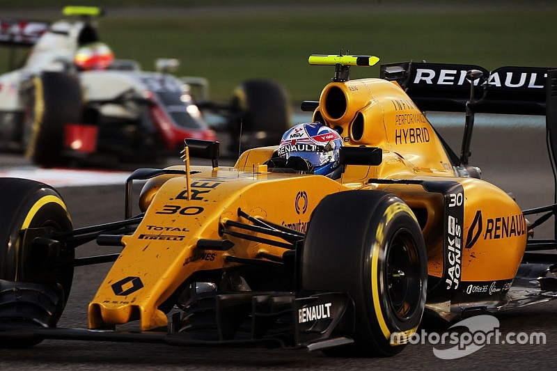 """Los pilotos no aptos físicamente serán """"descubiertos"""" en el 2017: Palmer"""