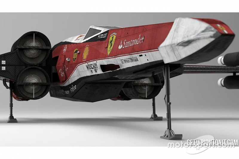 Galería: X-Wing Fórmula 1